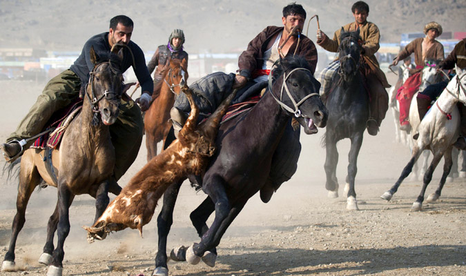 Photo of the Day: Getting His Goat, Afghan-Style | Asia Society